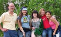 Brighton High School represented Monroe Co. in the 2002 NY State Envirothon Competition