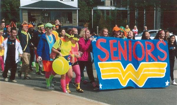 Senior Class of 2019 Homecoming Parade