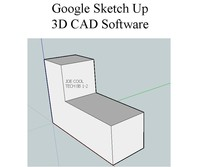 3D CAD Software Google Sketch Up
