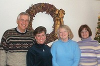 Officers (from left): Bill Jabs, Paula Reitz, Carol Michaels, Gail Daugherty