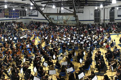 the 2020 districtwide strings concert