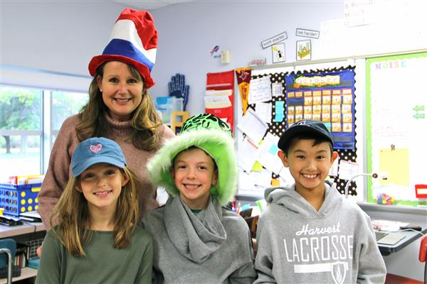 Hat Day at FRES