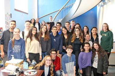 BHS hosted Israeli students earlier this year