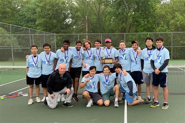 Boys Tennis Repeats as Section V Class A Champions