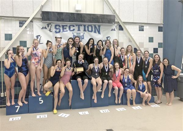 Girls Swimming Champs Again