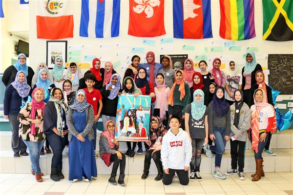 World Hijab Day at TCMS