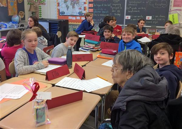 TCMS Students Meet Their Pen Pals
