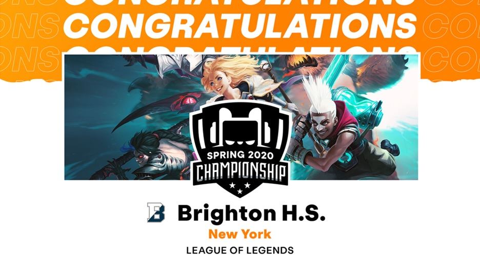 BHS League of Legends Team Repeats as State Champions