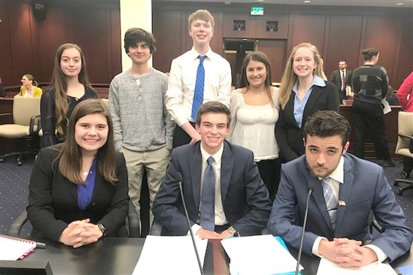 Mock Trial Team Wins County Championship