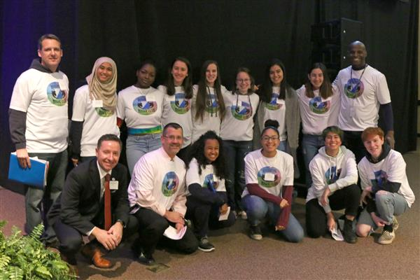 Brighton students who organized Roc2Change